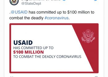 Corono Virus Update Today : USA Offers $100m to china to fight against coronovirus